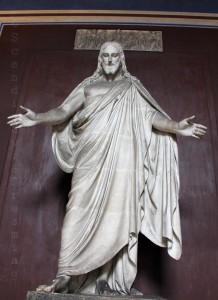 Christ du coeur de la Domkirke, platre du musée Thorvaldsen