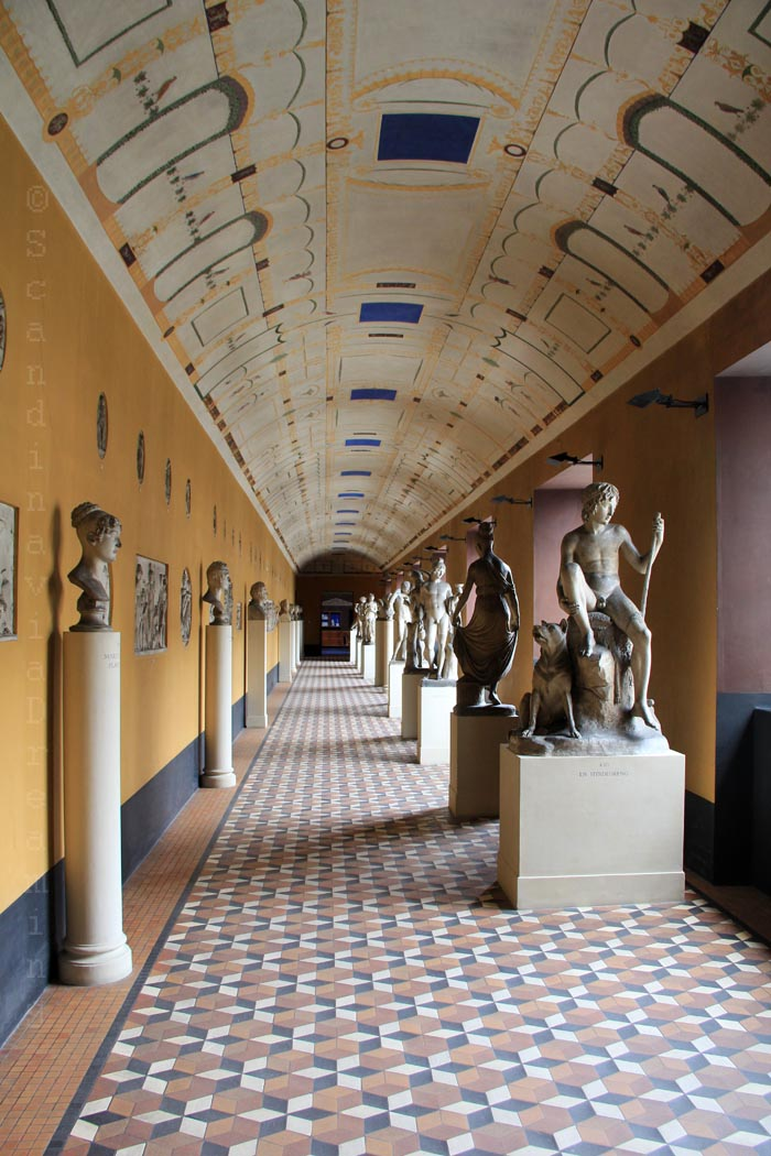 Galerie du musée Thorvaldsen à Copenhague