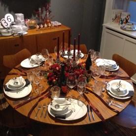 Table de Noël à Royal Copenhagen