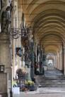 Cimetière Mirogoj galerie en perspective