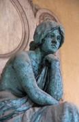 Cimetière Mirogoj statue