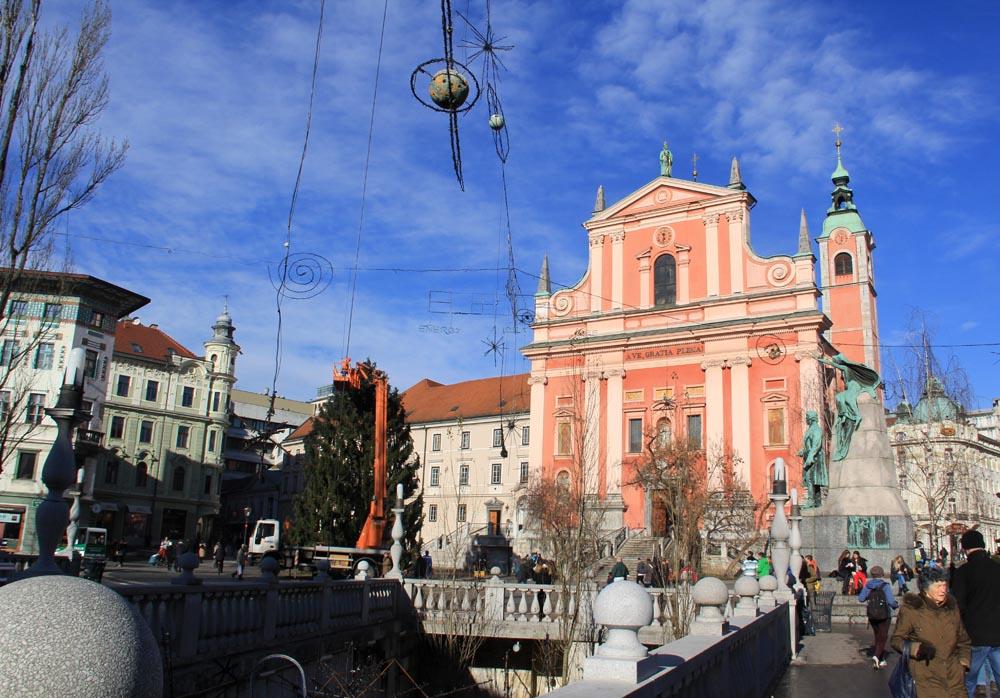 Eglise de Ljbljana