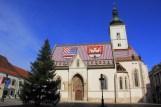 Eglise saint-Marc de Zagreb