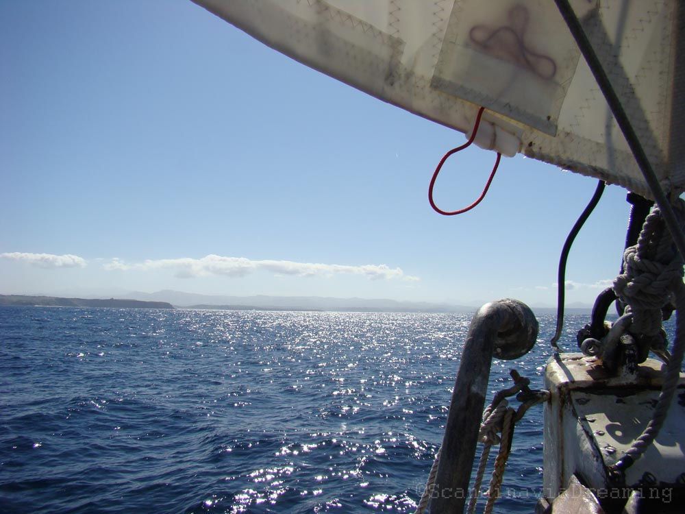 Les côtes espagnoles en vue