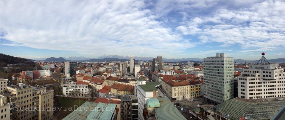 Ljubljana côté Alpes
