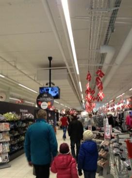 Au supermarché danois
