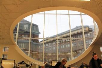 Bibliothèque universitaire d'Helsinki, salle de lecture