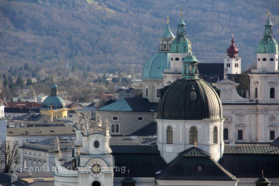 Clochers de Salzburg