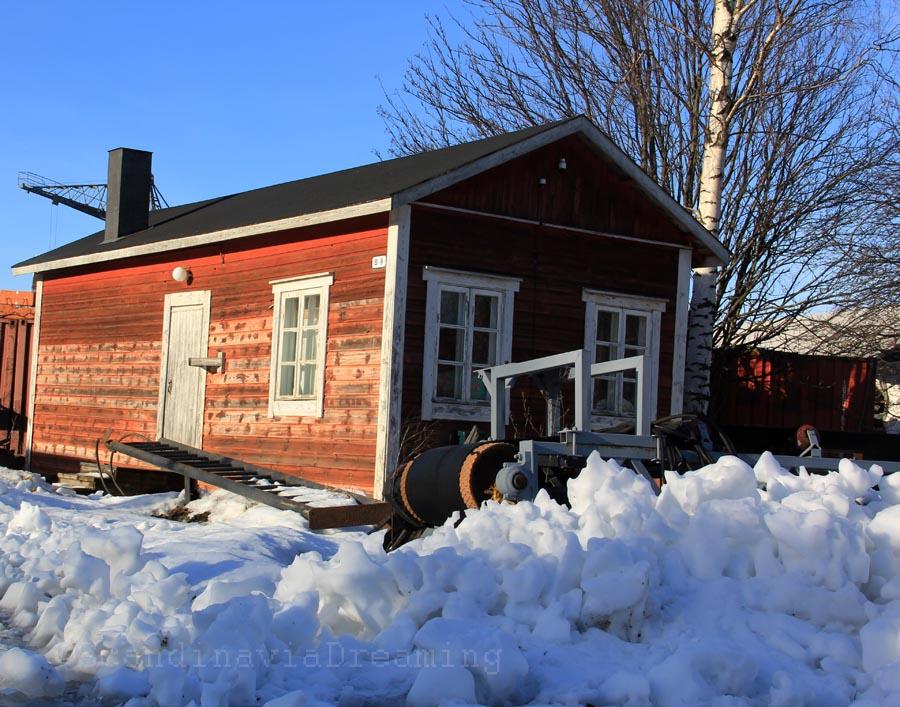 Neige à Suomenlinna