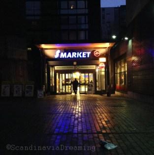Supermarché à Helsinki