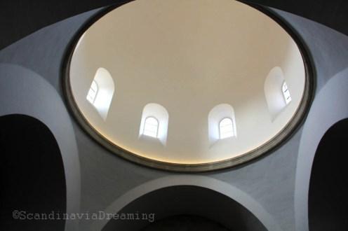 Coupole d'une chapelle de la cathédrale de Roskilde