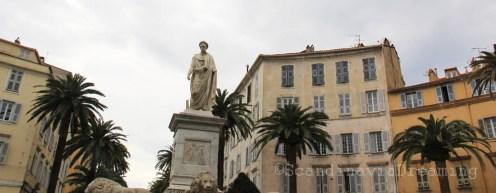 Place du marché Ajaccio