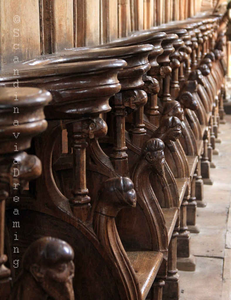 Stalles de la cathédrale de Roskilde