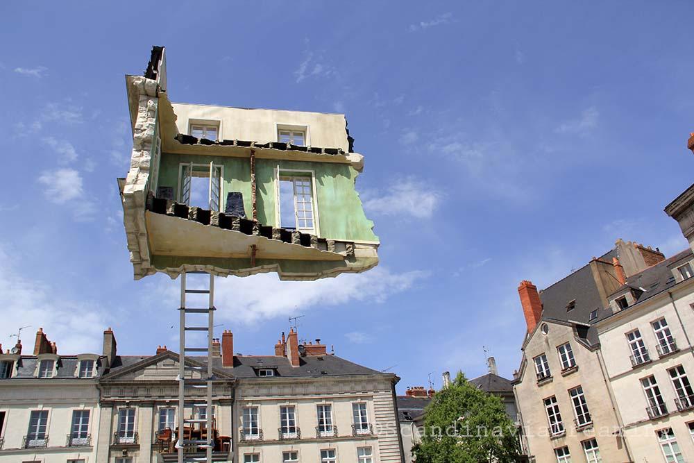 Maison suspende à Bouffay