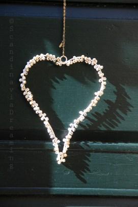 Coeur sur une porte de Dragør