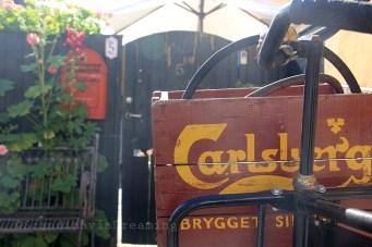 Vélo dans une rue de Dragør