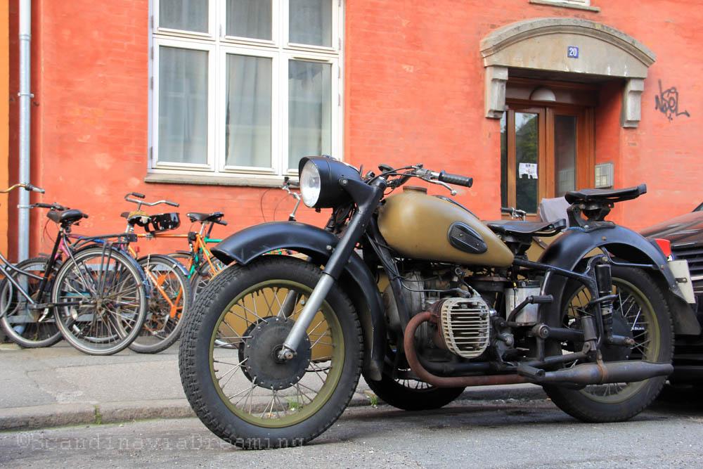 Cool bike of Noerrebro