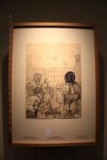 Croquis d'Hergé