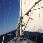 En mer sur un Hallberg-Rassy