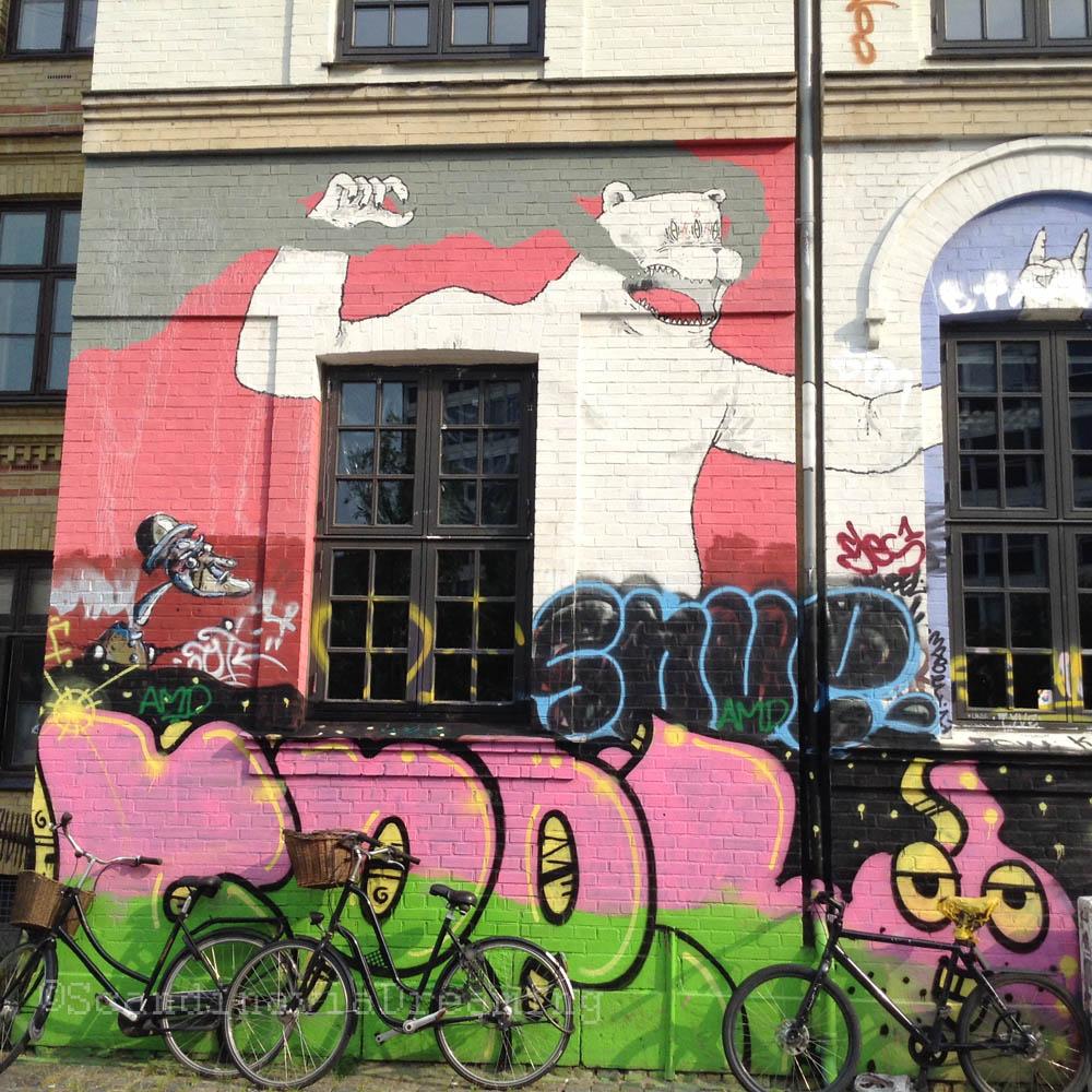 Façade du lycée libre de Copenhague
