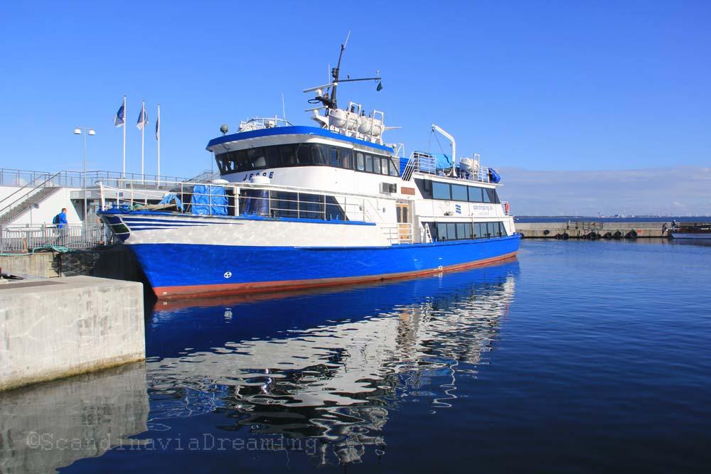 Jeppe le bateau de Copenhague à Ven