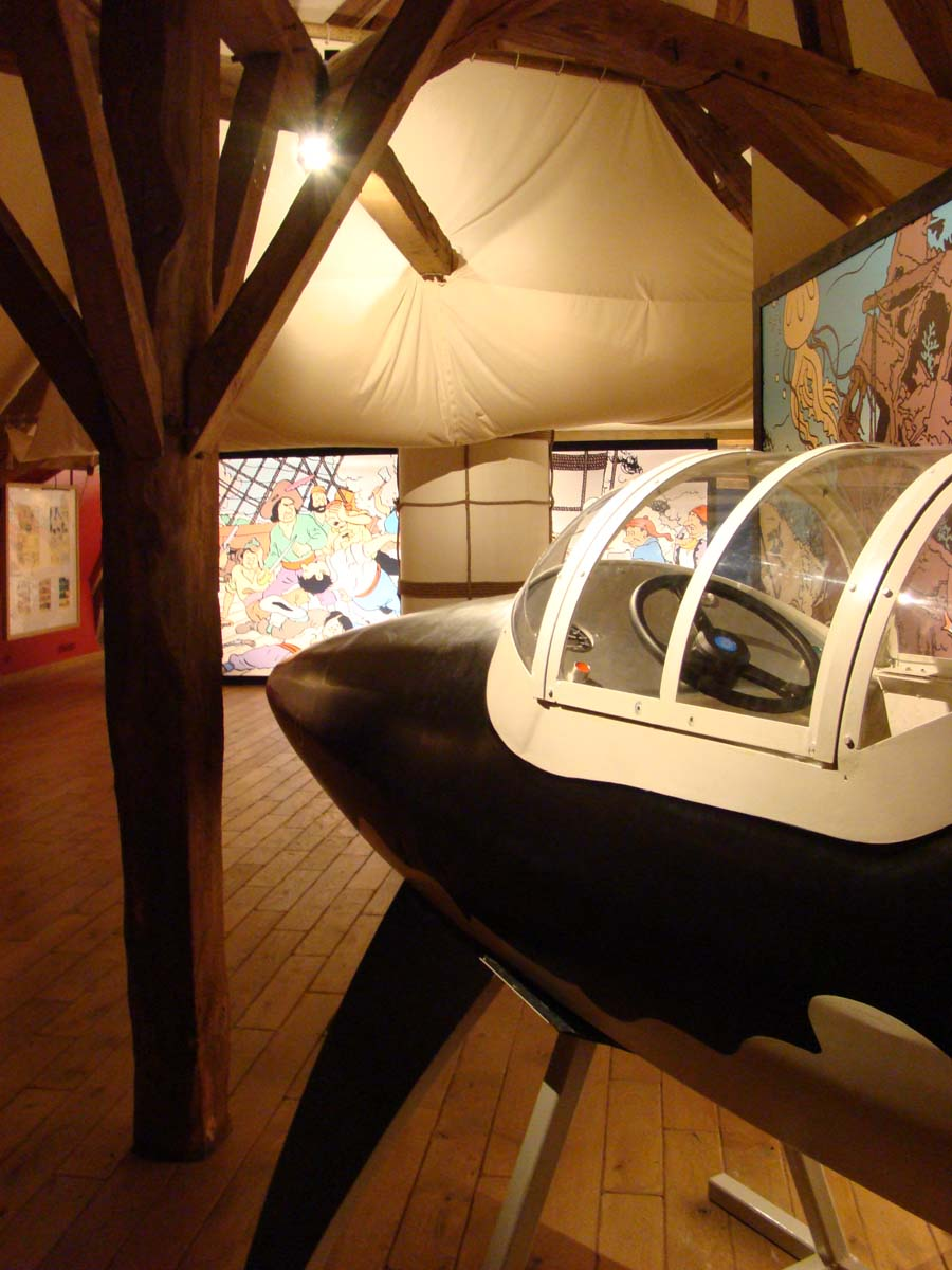LE requin submersible de Tintin