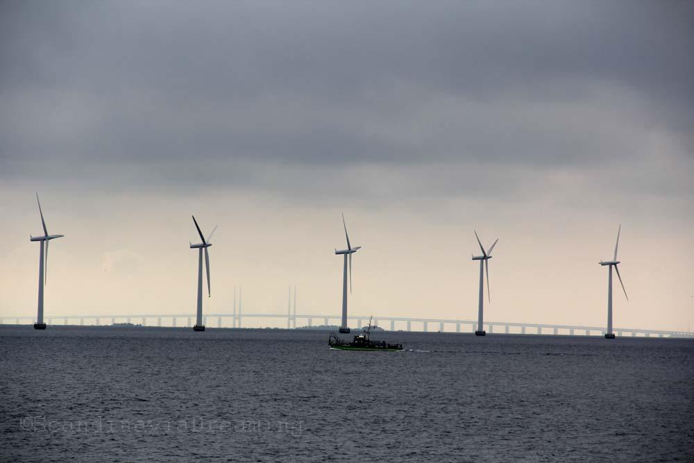 éoliennes Copenhague Øresund