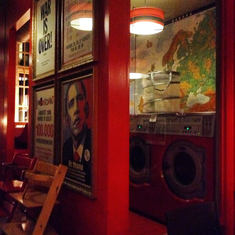 The laundromat café Noerrebro