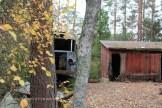 Le bus et la cabane
