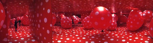 Panoramique dans les ballons