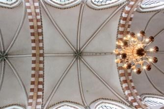 Voûte de la cathédrale de Ribe