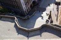 Escalier Helsingborg Suède Scanie