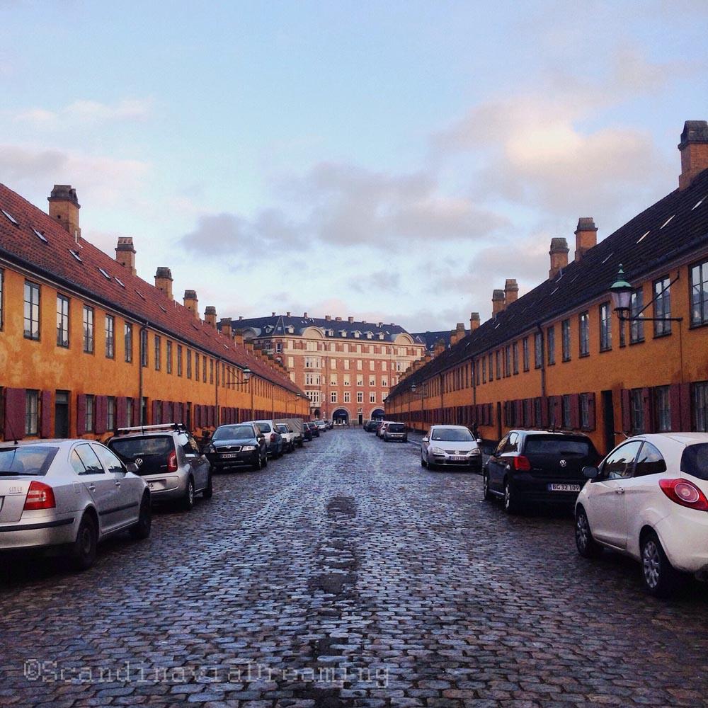 Symétrie des rues de Nyboder
