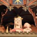 Vierge à l'enfant détail de l'horloge astronomique de Lund