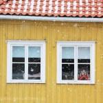 Maison jaune Kvarnholmen