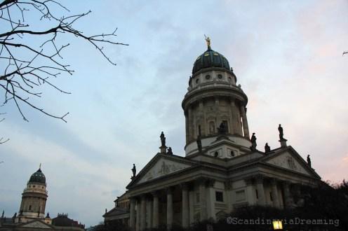 Berlin au coucher de soleil