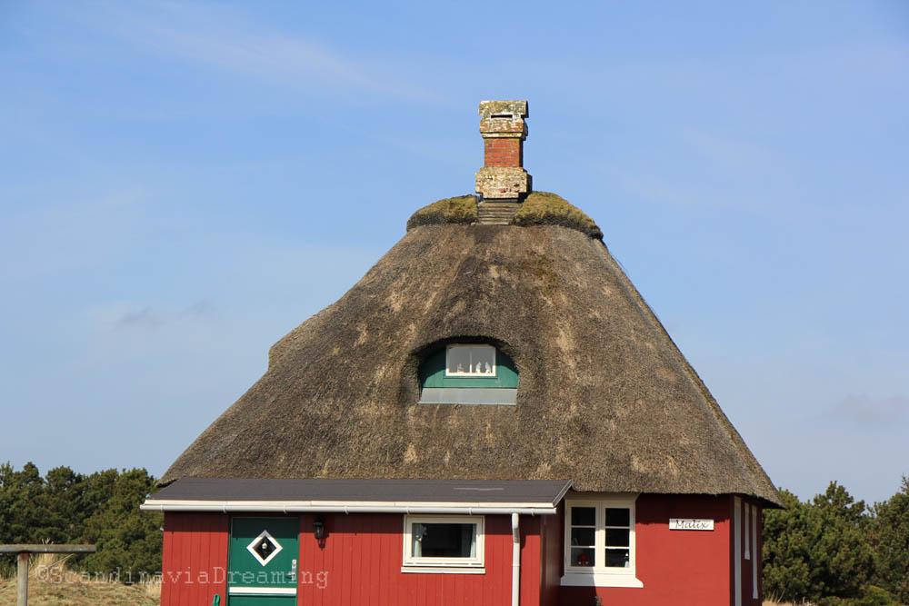 Chaumière de Fanoe, Danemark