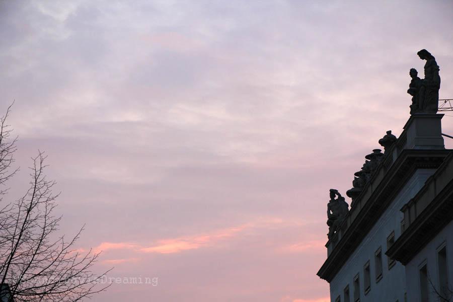 Coucher de soleil Berlin
