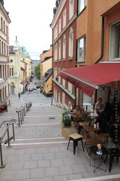 Dans les rues de Södermalm