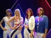 Les membres d'ABBA