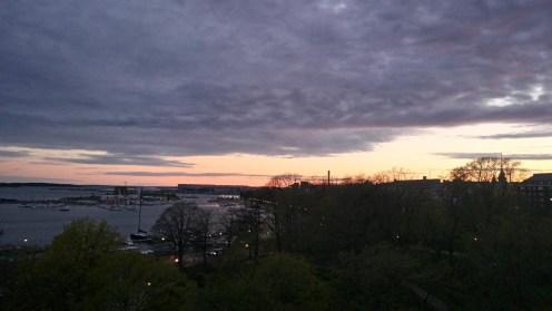 Coucher de soleil Helsinki