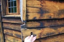 Porte église en bois Norvège