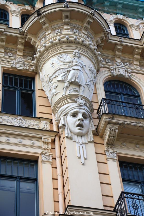 Art Nouveau Mascaron