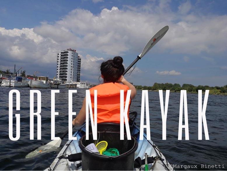 Green Kayak
