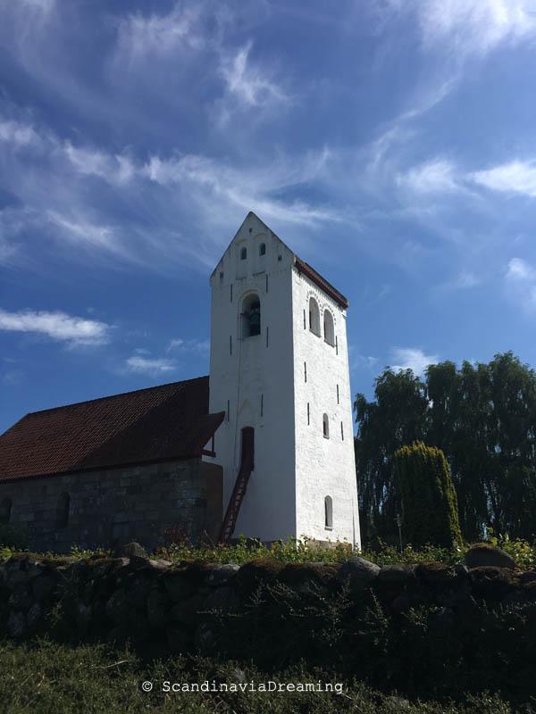 Eglise près de Moensted