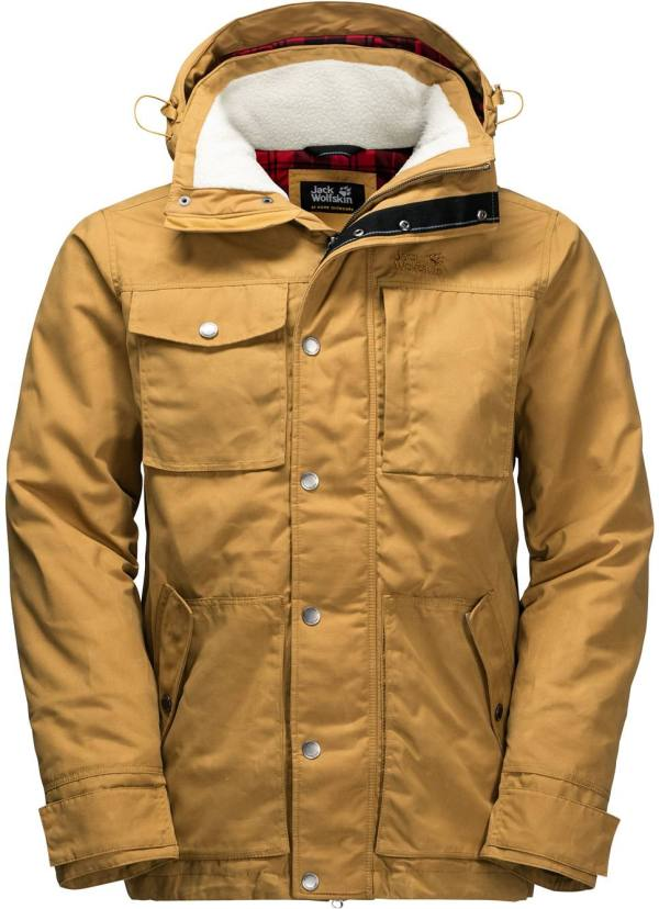 Gold Winter Jacket Jack and Cat