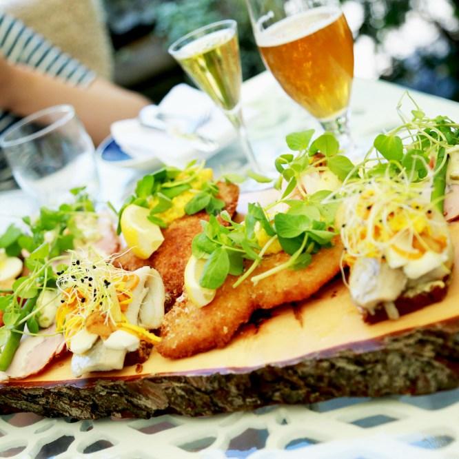 Classic danish smørrebrød lunch at wonderful Tivoli Gardens – Fru Nimb