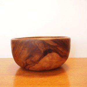 Saladier – vide poche scandinave vintage, olivier