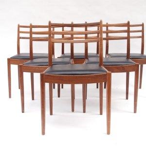 Chaise vintage scandinave, années 50 60