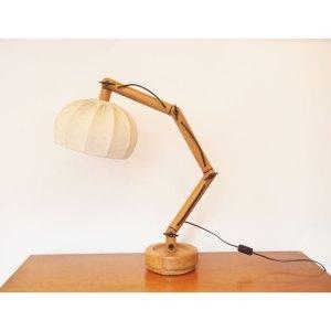 Lampe articulée, vintage scandinave, années 70